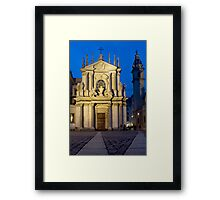 Church of Santa Cristina - Turin, Italy Framed Print