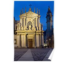 Church of Santa Cristina - Turin, Italy Poster