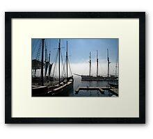 Tall Ships - Toronto Ontario Framed Print