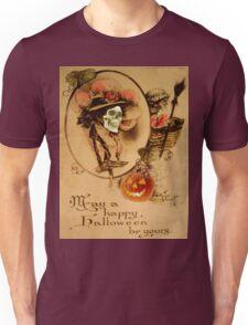 Happy Halloween (Vintage Halloween Card) Unisex T-Shirt