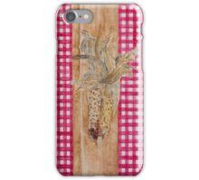 Dried Corn Decoration iPhone Case/Skin