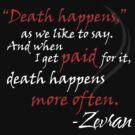 Zevran Aranai - Death Happens by Ashton Bancroft