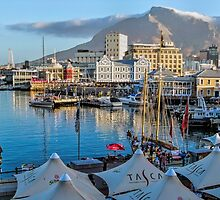 V & A Waterfront Cape Town South Africa by Lynn Bolt