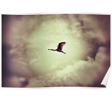 Soaring spoon Poster