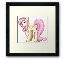 My Little Pony - Fluttershy. Framed Print