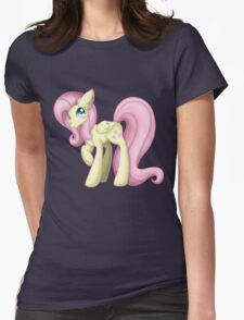My Little Pony - Fluttershy. Womens Fitted T-Shirt