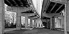 Under the Gardiner - Toronto Ontario by Debbie Pinard