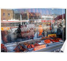Chinatown, Reflected - Toronto Ontario Poster
