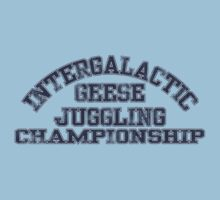 Intergalactic Geese Juggling Championship Kids Clothes