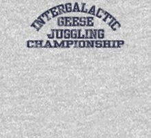 Intergalactic Geese Juggling Championship T-Shirt