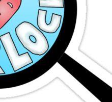 I love Sherlock Sticker