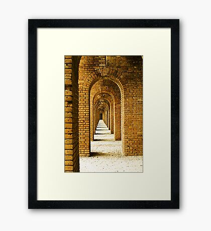 Fort Jefferson Framed Print