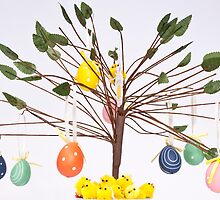 egg tree by Ben Rees