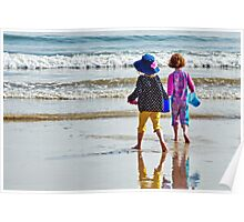 Springtime At The Seaside :) Poster