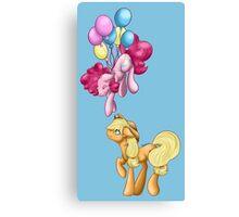 My Little Pony - Applejack and Pinkie Pie Canvas Print