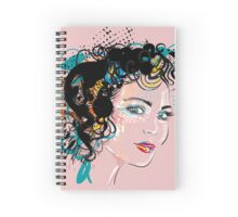 Retro Girl Spiral Notebook