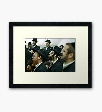 Shabbat , Shabbat shalom (שַׁבָּת שָׁלוֹם). Harcikn Dank ! A dank ojch zejer!  by Doktor Faustus. Views (88) Thx! Framed Print