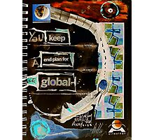 global Photographic Print