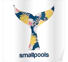 Smallpools Floral Whale Tale Poster