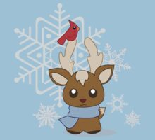 The Reindeer and the Cardinal by Ashton Bancroft