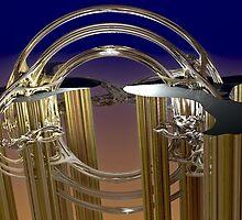 Ornate wind chimes by vivien styles