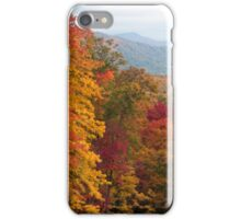 Autumn in the mountains iPhone Case/Skin