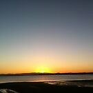 Sunset at Moreton Bay, Queensland, Australia by Leah Gay