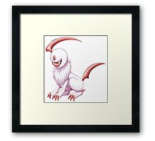 Pokemon - Shiny Absol Framed Print