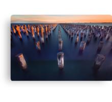 Port Melbourne Canvas Print
