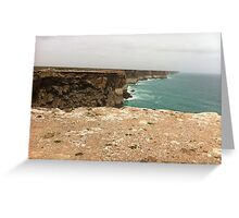 South Australian Coast line Greeting Card