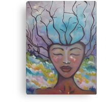 Eve #2-alleyvision-oil painting Canvas Print