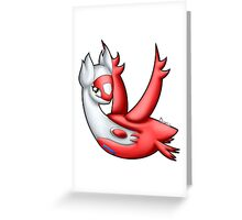 Pokemon - Latias Greeting Card