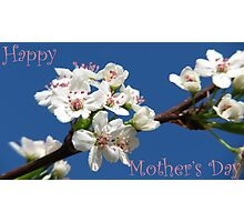 Mother's Day Sky Bouquet Photographic Print