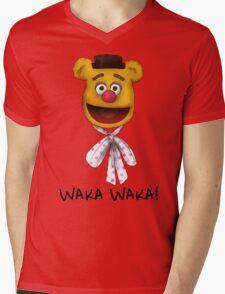 Waka Waka Mens V-Neck T-Shirt
