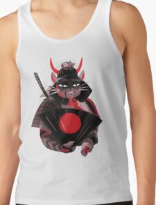 Samurai Cat Tank Top