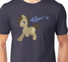 Doctor Whooves- Allons-y! Unisex T-Shirt