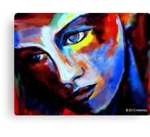 """""""Motionless stare"""" Canvas Print"""