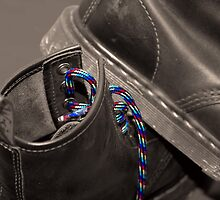 It's all in the laces by Clare Colins