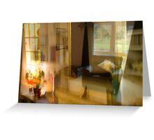Living Room .. Greeting Card