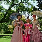 Colonial Ladies in the Garden by TonyCrehan