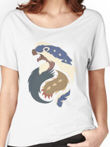 The Honey Eater - Arzuros (Aoashira) Women's Relaxed Fit T-Shirt