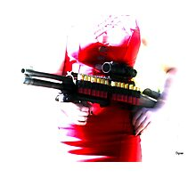 Killer Red  Photographic Print