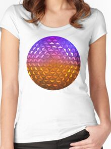 A Grand and Miraculous Spaceship Women's Fitted Scoop T-Shirt