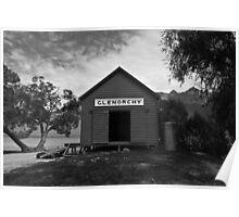 Glenorchy Hut Poster
