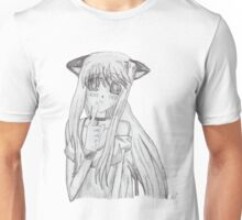 Manga Catgirl Unisex T-Shirt