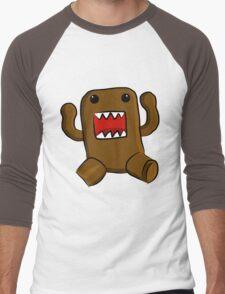 Domo Kun Men's Baseball ¾ T-Shirt