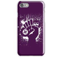 SNES Controller Splat iPhone Case/Skin