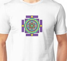 Metatron's Cube Merkaba Mandala Unisex T-Shirt