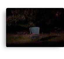 Vacant chair Canvas Print