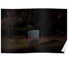 Vacant chair Poster